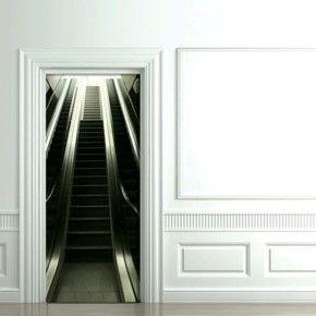 Декоративные 3D фотонаклейки на межкомнатные двери
