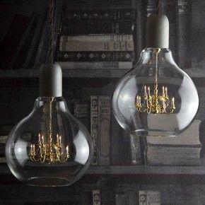Королевский канделябр в лампочке Эдисона