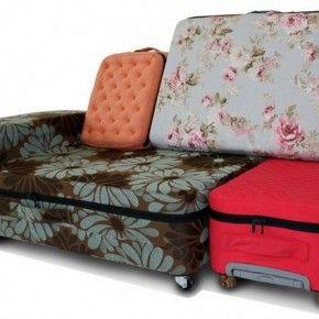 Трансформер для путешествий: диван или набор чемоданов?