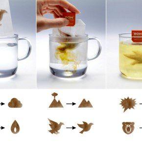 Пусть стресс растворится: чай в необычных пакетиках