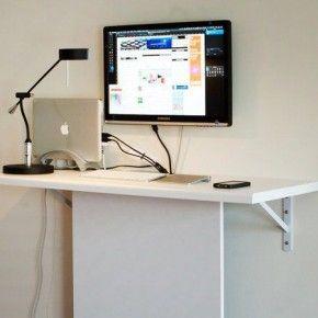 Компьютерный стол своими руками с потайным местом для внешних дисков и шнуров