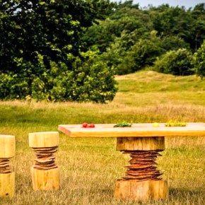 Природное несовершенство: деревянная мебель от Bente Hovendal