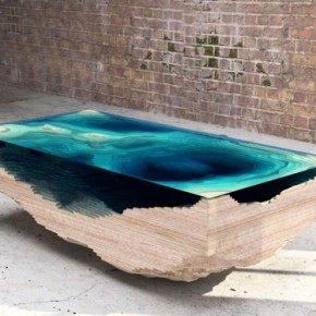 Abyss Table: морская бездна в кофейном столике