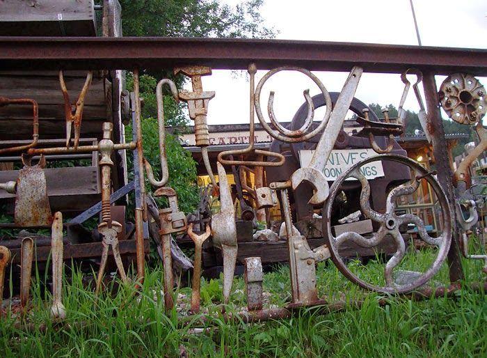 Железные заборы для дачи