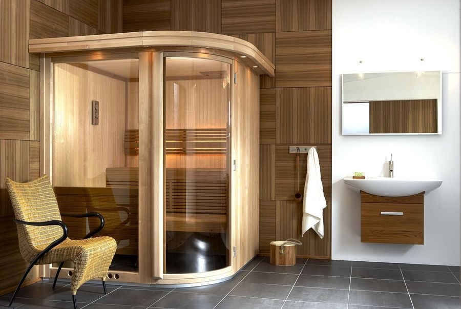 Sauna bathroom