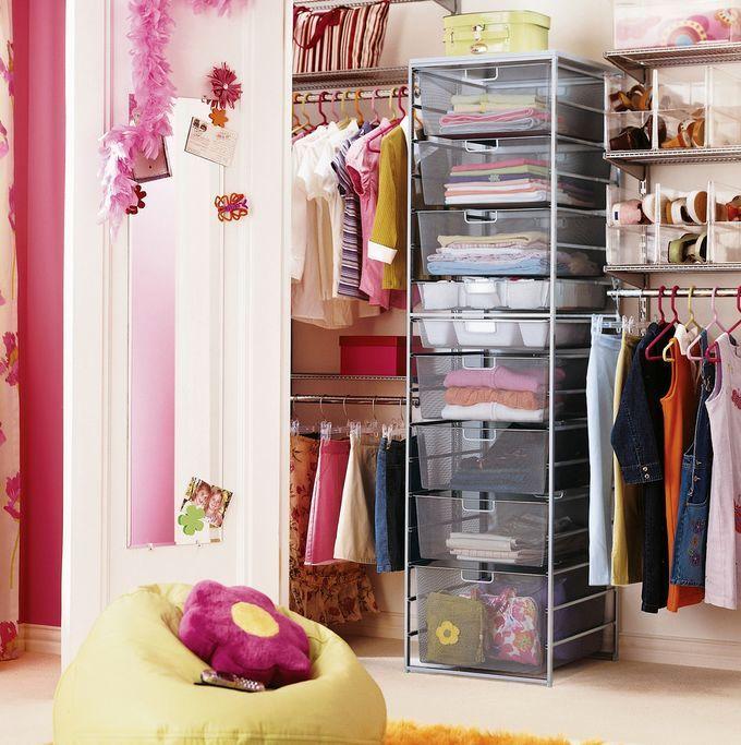 маленькая гардеробная в квартире
