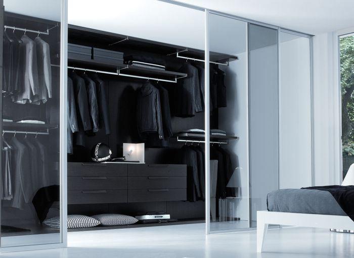 гардеробная комната холостяка