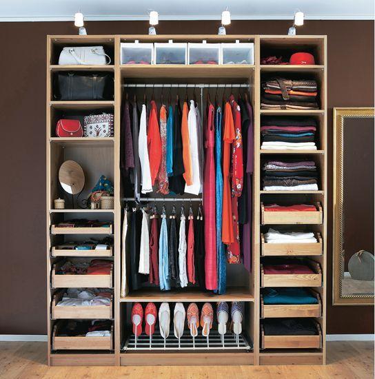 гардеробная для маленькой квартиры