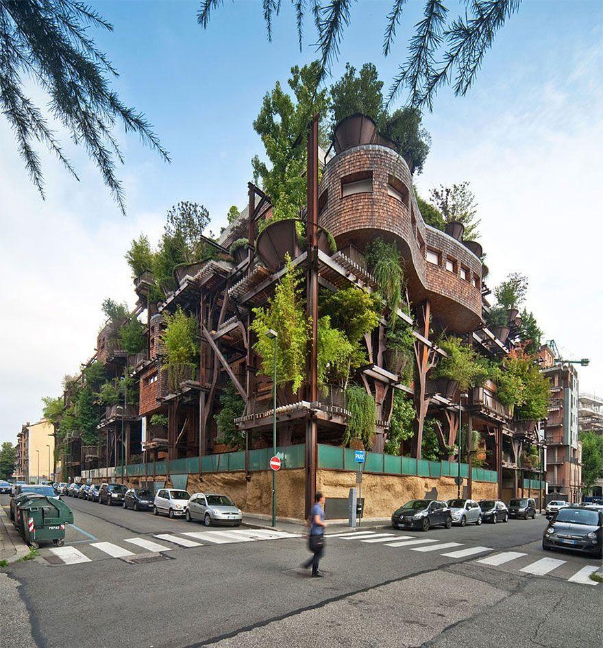 эко дом 25 green в Турине, Италия