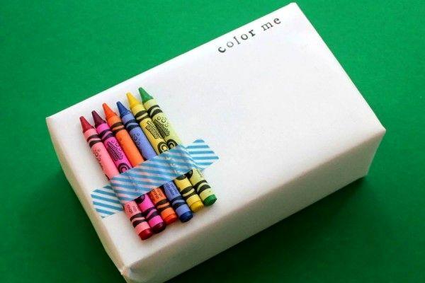 упаковка подарка для детей