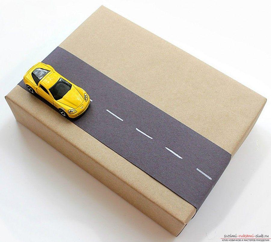 идеи упаковки детских подарков