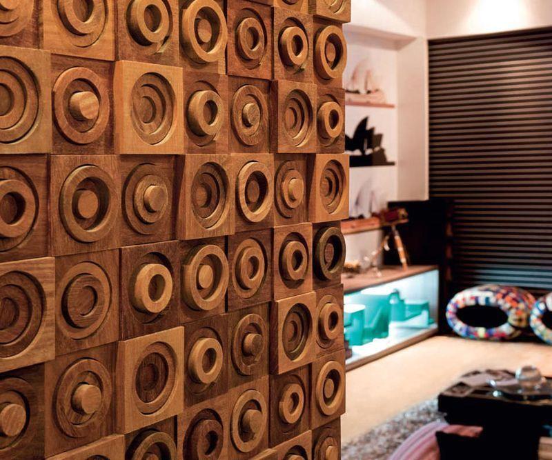 деревянные декоративные панели для стен