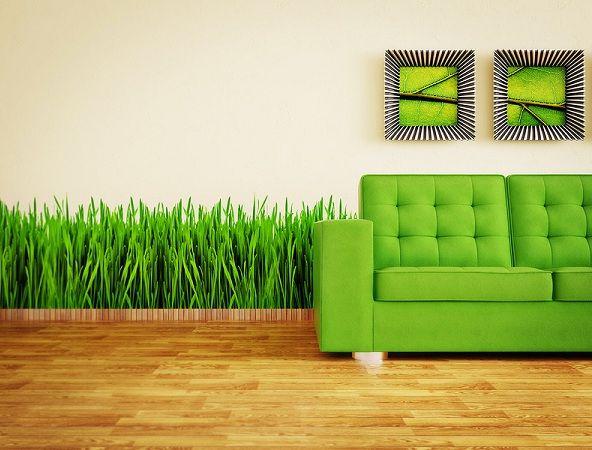 фотообои с травой