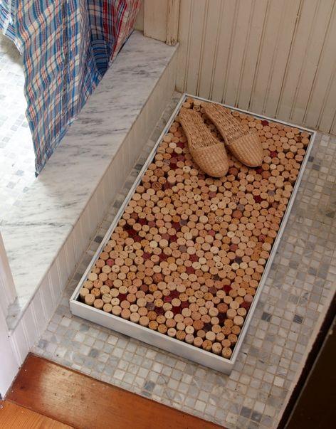 Сделать коврик для ванной комнаты