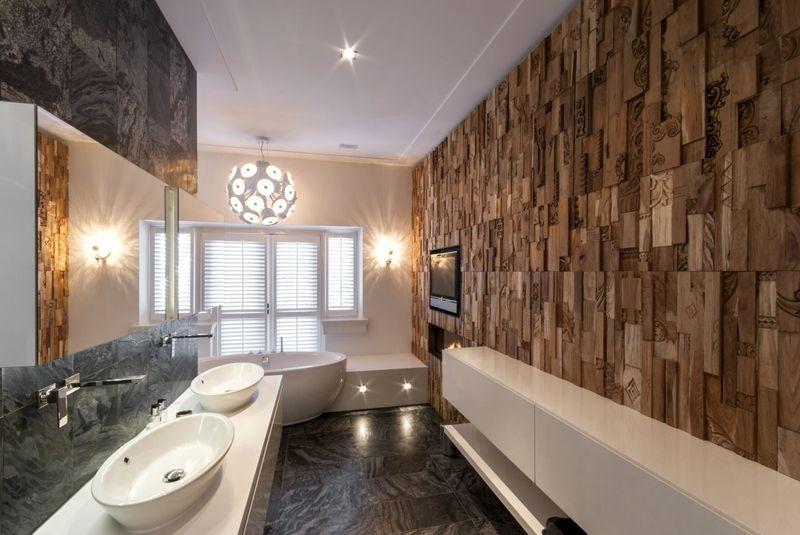3D панели для стен в ванной