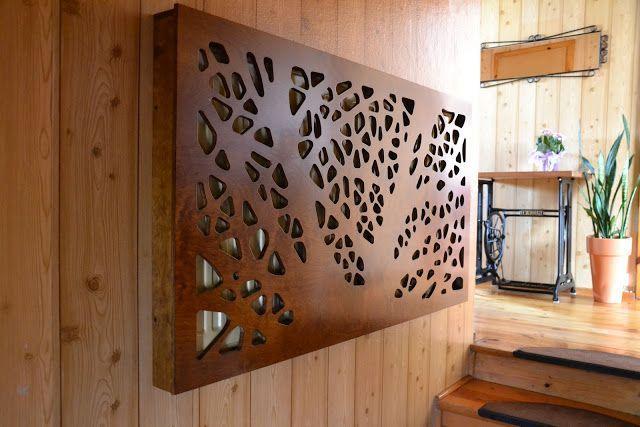 Деревянные решетки радиатора своими руками