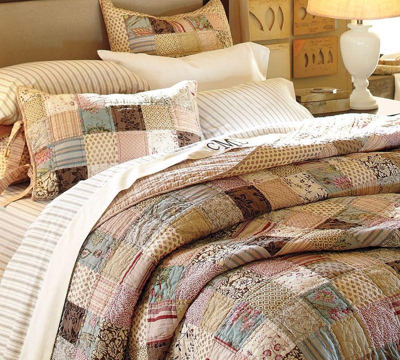 постельное белье - лоскутное шитье