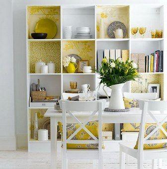 декор мебели обоями
