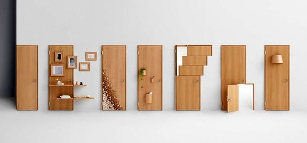 креативные двери Nendo