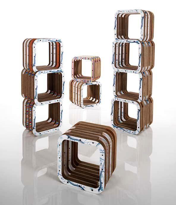 модульный стеллаж конструктор Giorgio Caporaso