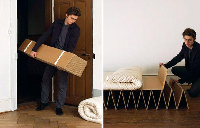 картонная кровать Itbed