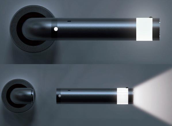 дверная ручка - фонарик