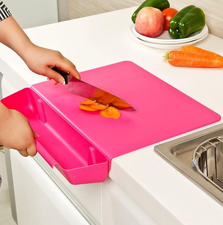 кухонная доска на край стола