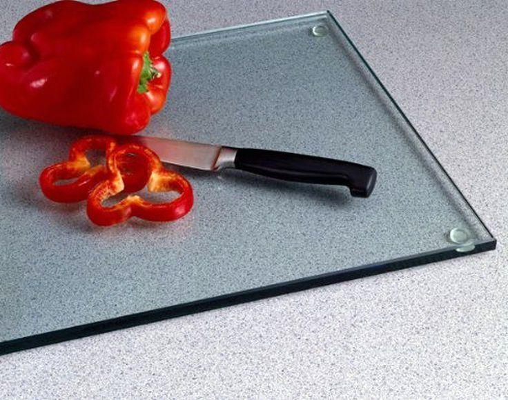 стеклянная разделочная доска