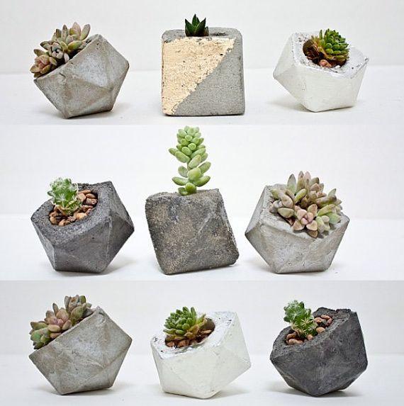 Ваза для цветов из бетона своими руками