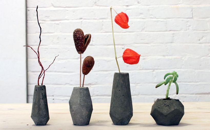 мастер-класс бетонные вазы 00