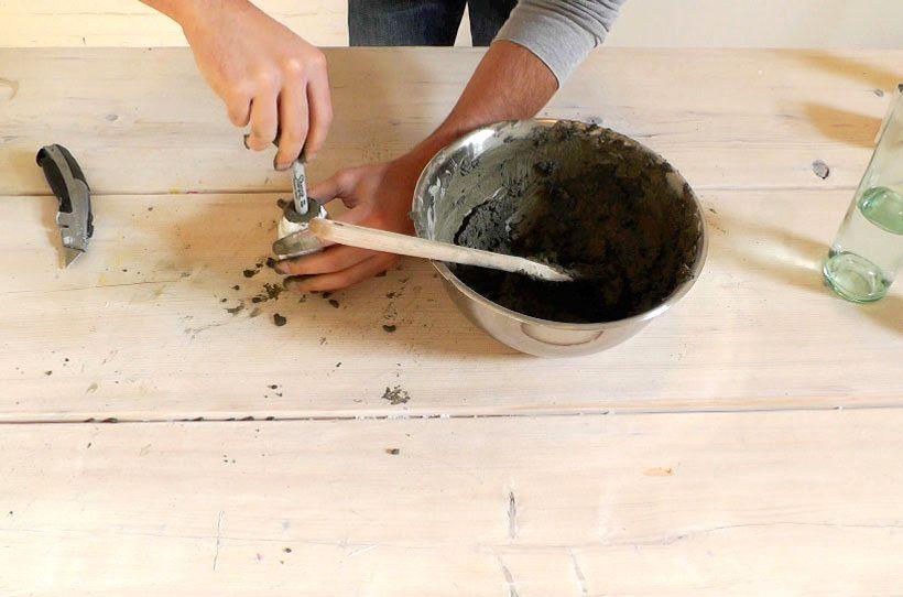 мастер-класс бетонные вазы 10