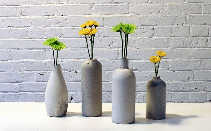 мастер-класс вазы из бетона 00
