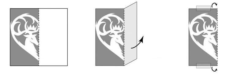 инструкции как вырезать сердечки в стиле Игры престолов 08