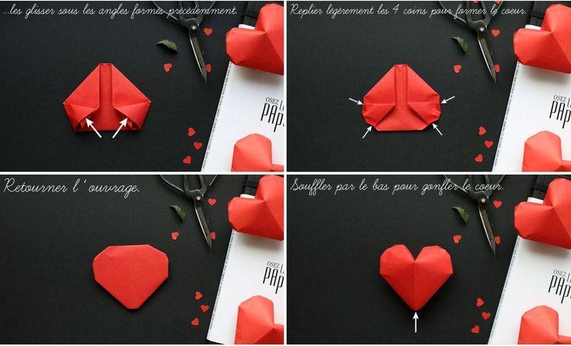 мастер-класс объемные сердечки оригами 04
