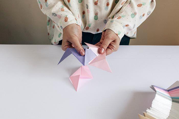 оригами на стену из бумаги 04