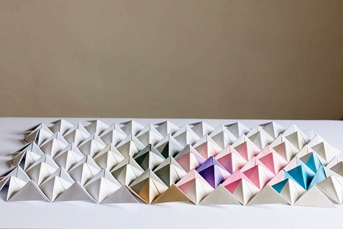 Origami wall art  Etsy