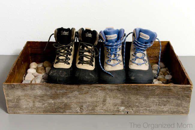 поддон для грязной обуви своими руками 01