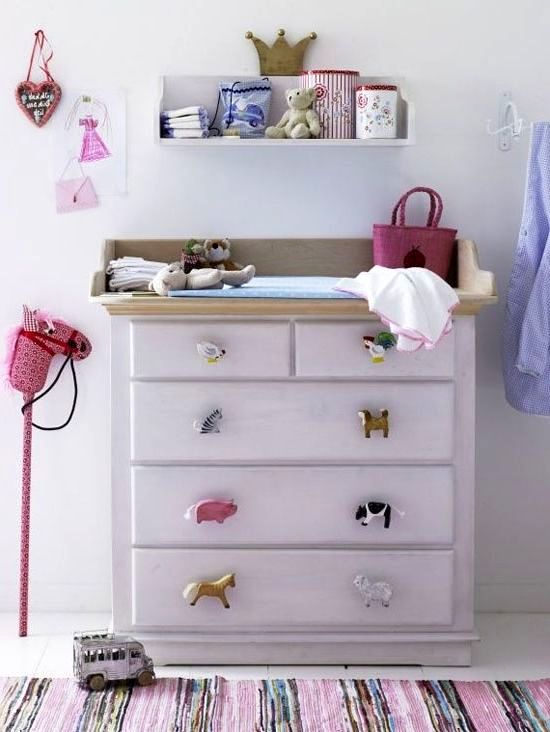 Ручку для мебели детской своими руками
