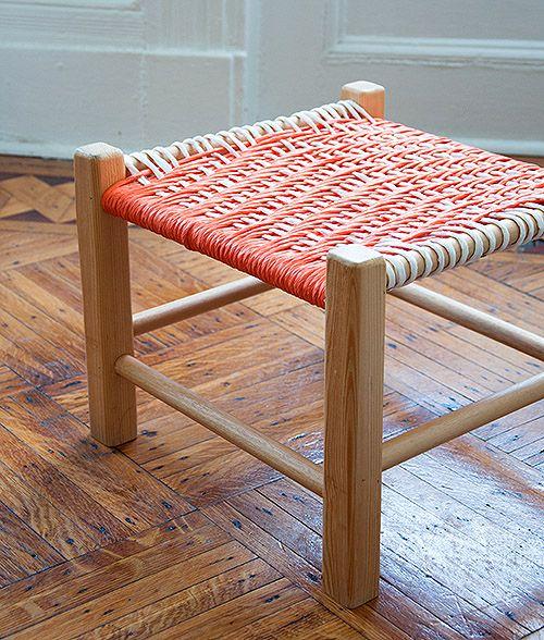 табурет с плетеным сиденьем своими руками 03