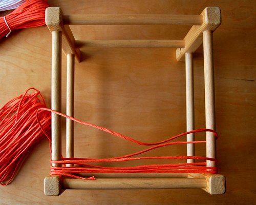 Ротанговое плетение сидушки стула своими руками
