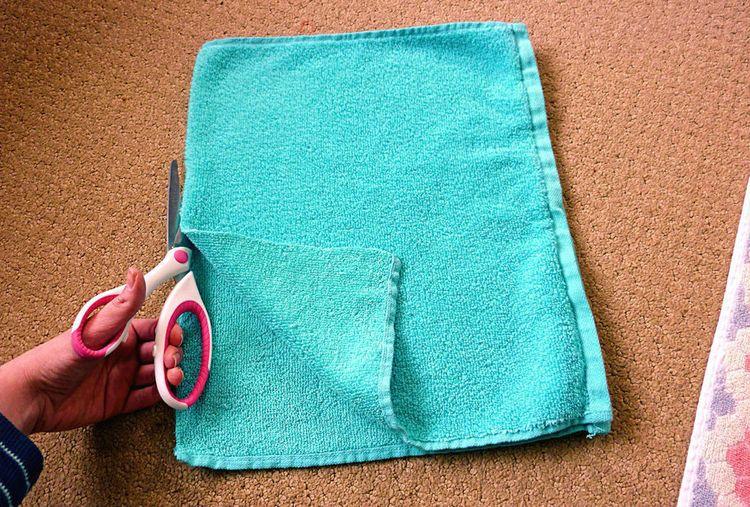 Поделки своими руками полотенца