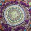 Плетение круглого коврика из веревок своими руками