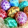 Роспись пасхальных яиц акварелью, гуашью и маркером