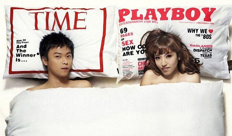 интересные наволочки Magazine Cover Pillowcase