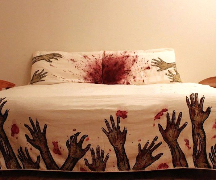 постельное белье Zombie Bed Sheets от Christie Melissa
