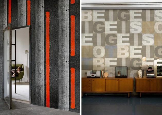 дорога и буквы, оригинальные фотообои для стен Wall&Deco