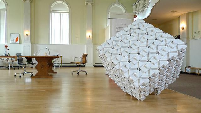 куб - оригами