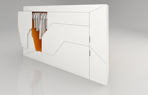 спальный блок Boxetti Private - компактная мебель-трансформер