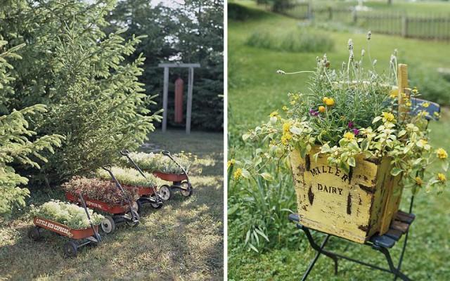 оригинальные контейнеры для цветов