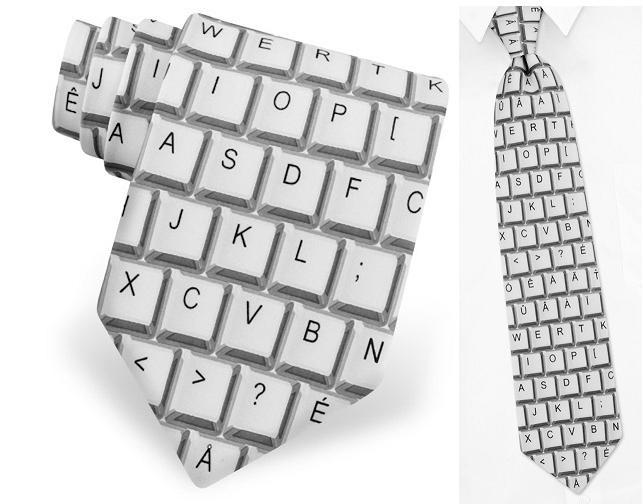 галстук - клавиатура